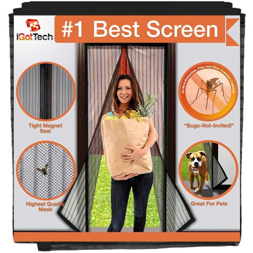 iGotTech Magnetic Screen Door-Full Frame