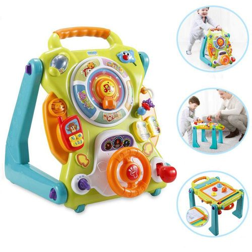 NuoPeng 3 in 1 Baby Sit-to-Stand Walker - Baby Push Walkers