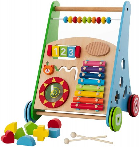 KIDDERY TOYS Baby Toys Kids Activity Toy - Baby Push Walkers