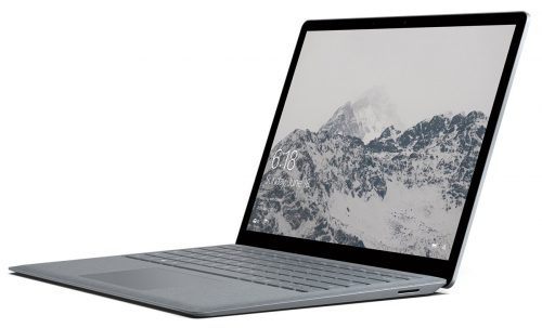 "Microsoft Surface Laptop (1st Gen) DAJ-00001 Laptop (Windows 10 S, Intel Core i7, 13.5"" LED-Lit Screen, Storage: 256 GB, RAM: 8 GB) Platinum"