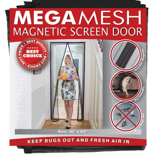 Easy Install Magnetic Screen Door Heavy Duty