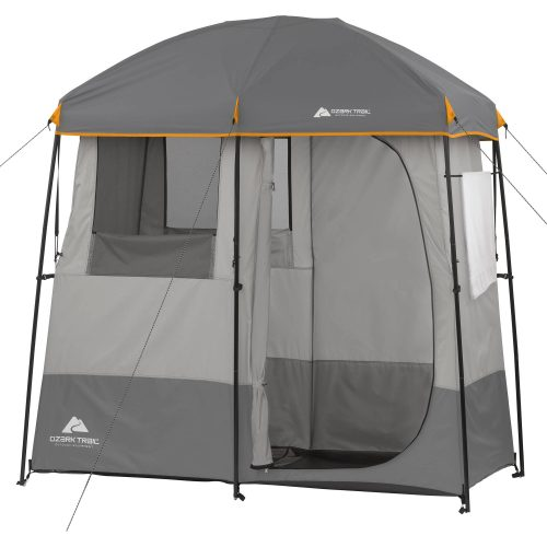Ozark Trail 2-Room Non-Instant Shower Tent, - pop-up changing tents