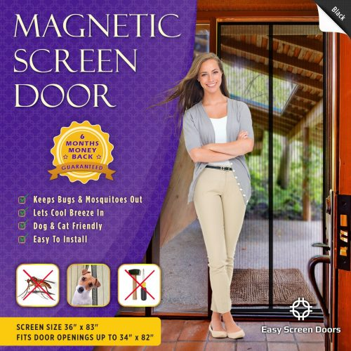 Easy Screen Doors Magnetic Screen Door