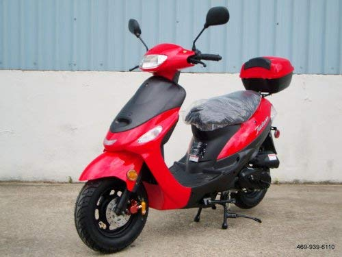 Tao Tao Brand Street Legal Scooter Model # ATM-50 Red Color