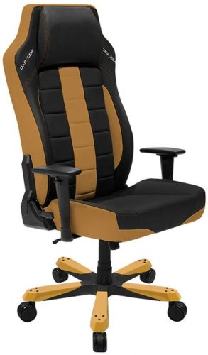 DXRacer Boss Series Big and Tall Chair DOH/BE120/NC Office Chair Comfortable Chair Ergonomic Computer Chair DX Racer Desk chair (Black/Coffee)