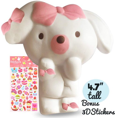 Felix and Wise Puppy Dog Soft Creamy Scented SquishyKawaii