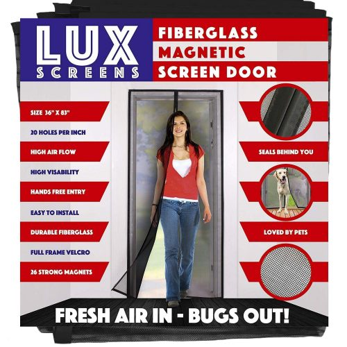 Lux Screens Magnetic Screen Door