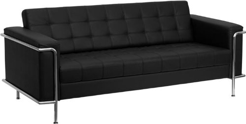 Leather Reception Sofa by Innovations Office Furniture