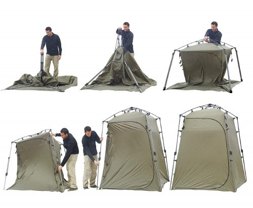 Lightspeed OutdoorsXtra Wide Quick Set Up Privacy Tent, Toilet, Camp Shower, Portable Changing Room