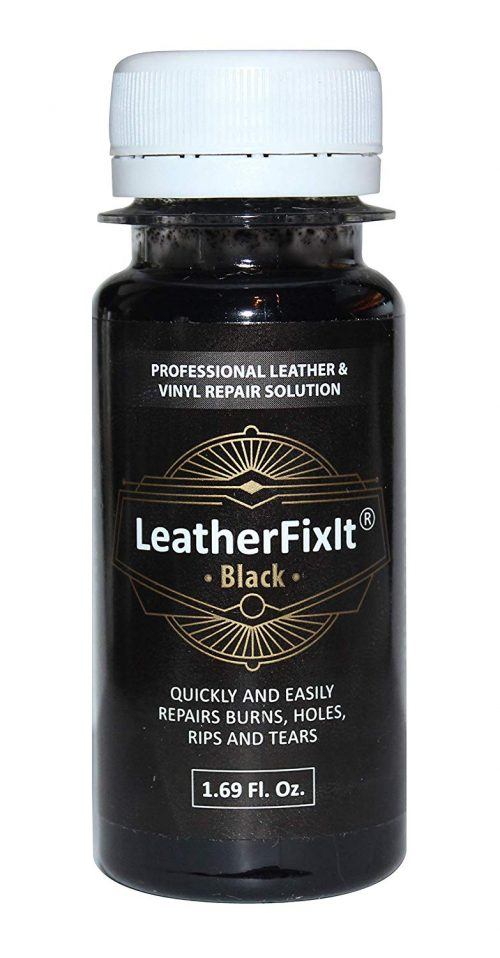Black Leather & Vinyl Repair Solution