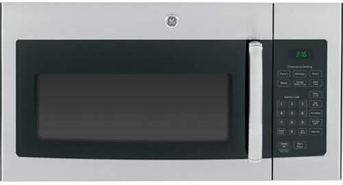 """GE JVM3160RFSS 30"""" Over-the-Range Microwave Oven in Stainless Steel"""