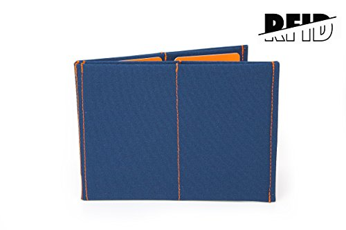 SlimFold Minimalist Wallet - RFID Option - Thin, Durable, and Waterproof Guaranteed - Made in USA - Original Size