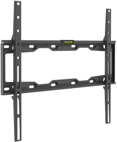 "Barkan 19""- 65"" Fixed Flat/Curved TV Wall Mount, Up to 110 lbs, Black, Auto-Locking Patented."