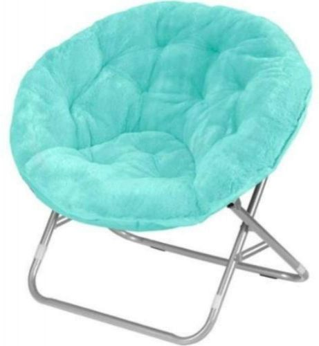 Mainstay WK656338 Saucer Chair, Wind Aqua