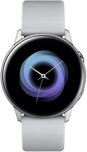 Samsung Galaxy Watch Active - 40mm, IP68 Water Resistant, Wireless Charging, SM-R500N International Version (Silver)