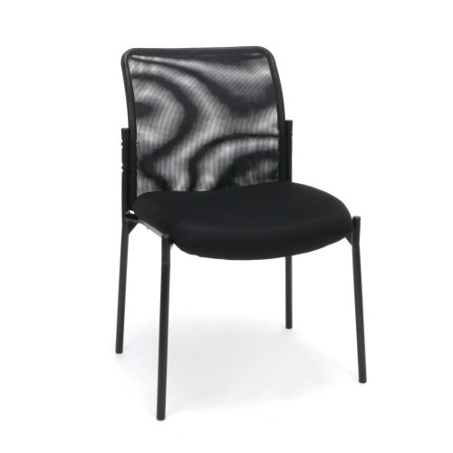 Essentials Mesh Upholstered Stacking Guest