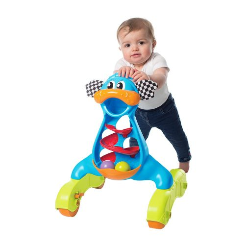 Playgro 0185503 Walk with Me Dragon Activity Walker for baby infant toddler children, Playgro is Encouraging Imagination with STEM/STEM for a bright future - Great start for a world of learning