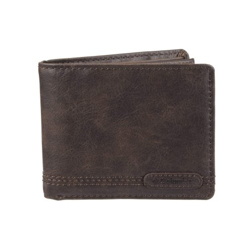Columbia Men's RFID Security Blocking Extra-Capacity Slimfold Wallet