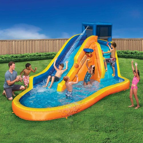 BANZAI Inflatable Water Slide