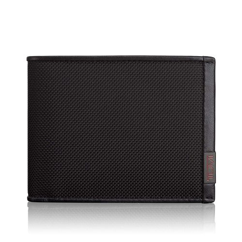 TUMI - Alpha Global Double Billfold Wallet with RFID ID Lock for Men
