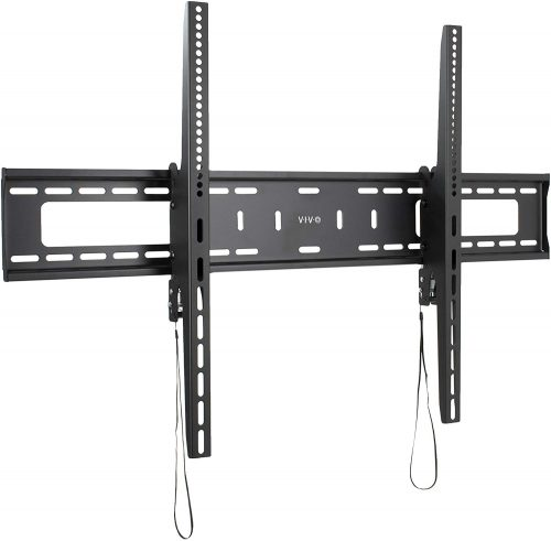 VIVO Black Extra Large Heavy-Duty 60 to 100 inch LCD LED Curved and Flat Panel Screen | TV Wall Mount Bracket with Max 900x600mm VESA (MOUNT-VW100T)