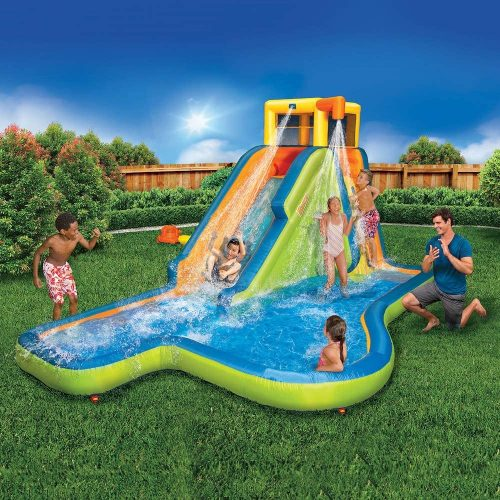 BANZAI Slide N Soak Splash Water Park