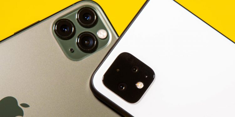 Pixel 4 vs. iPhone 11 Pro