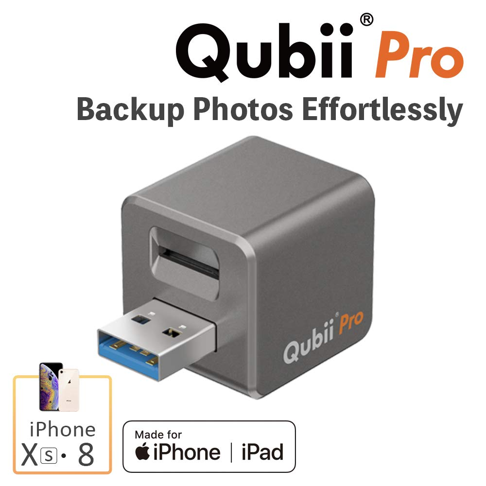 Qubii Pro Auto Backup Storage Device for iPhone & iPad