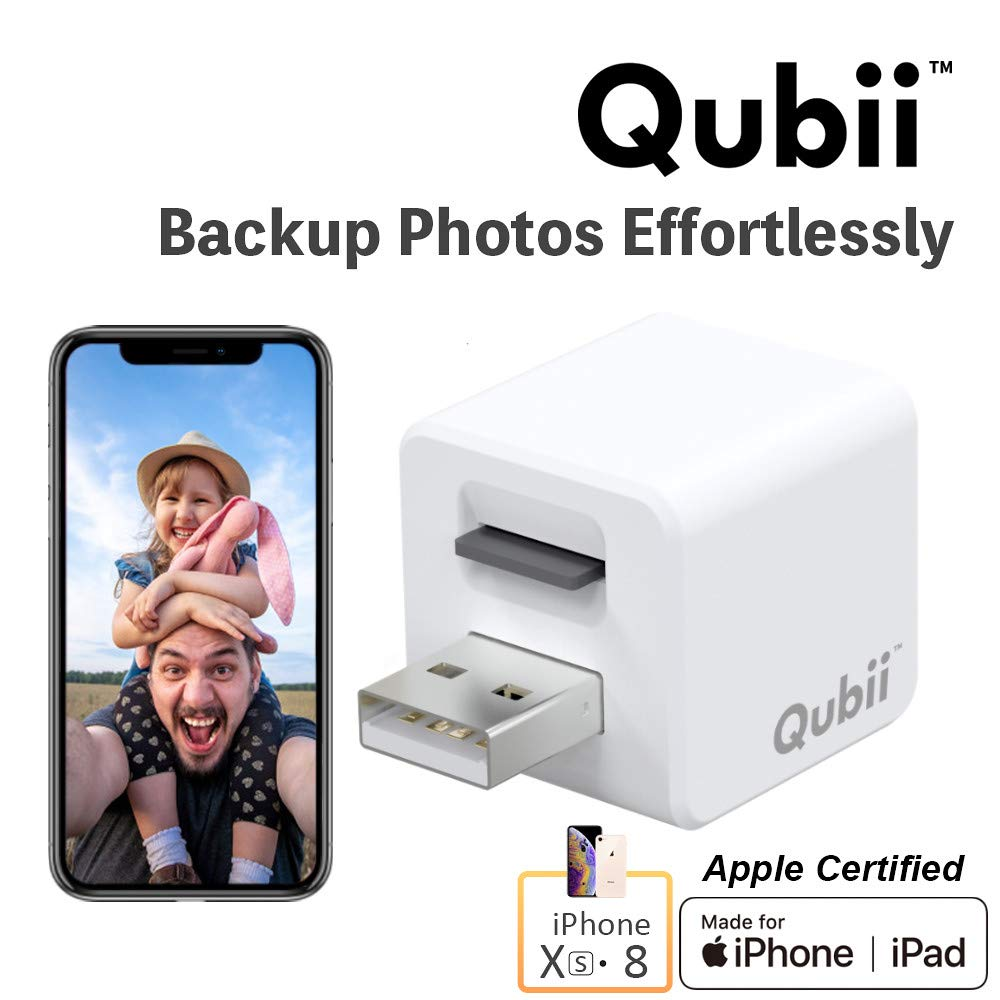 Qubii Storage Device for iPhone & iPad
