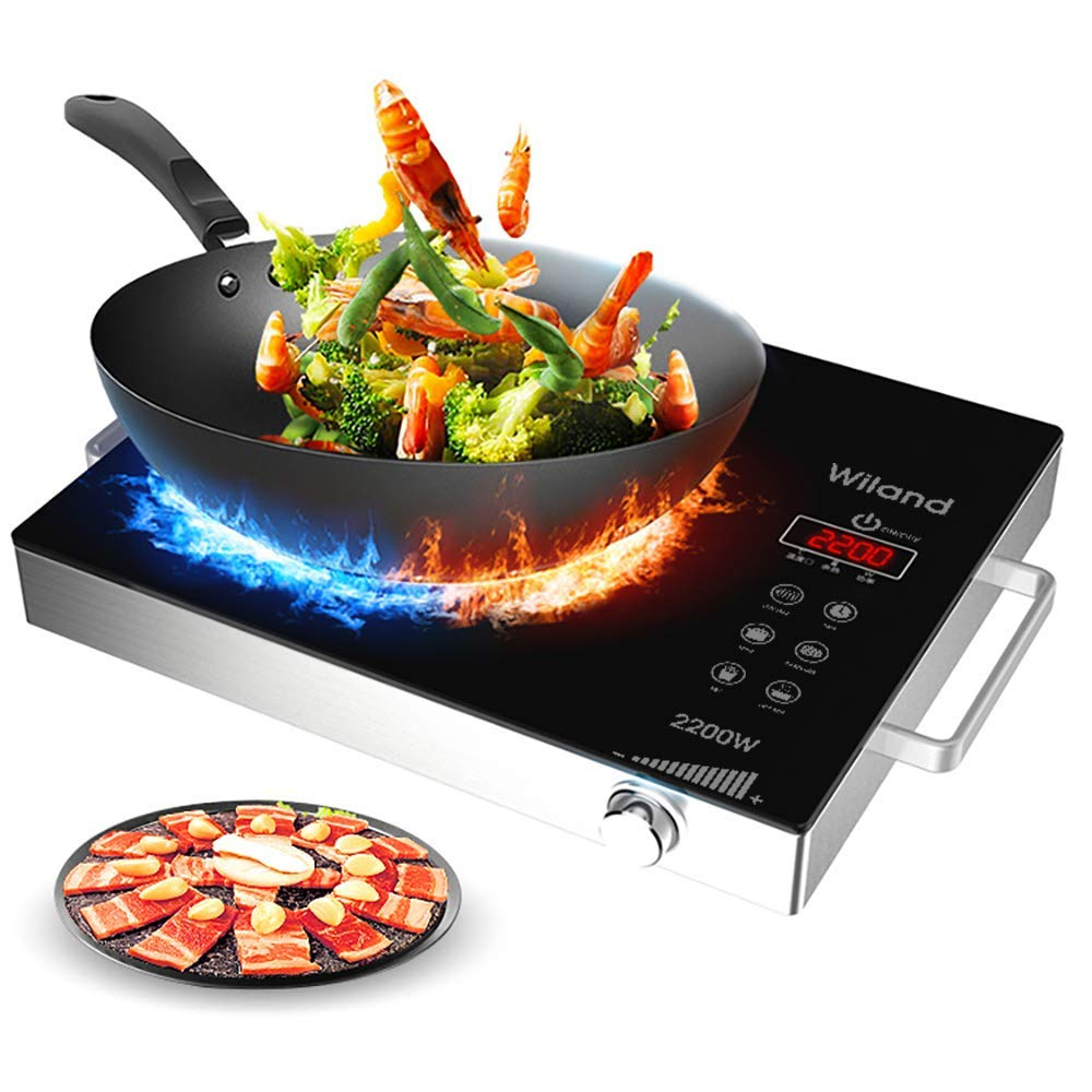Portable Induction Cooktop induction stove Countertop Burner - Portable Electric Stove Top
