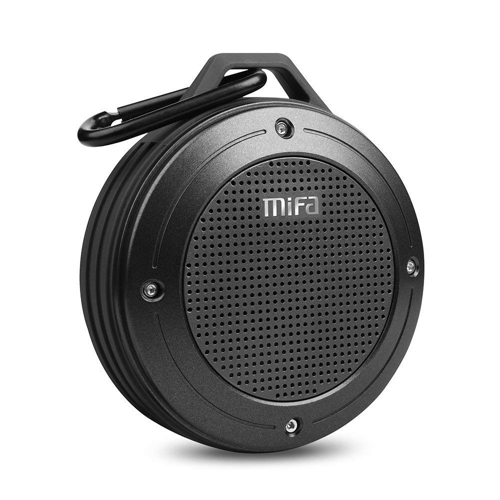 MIFA F10 Portable Speaker with Enhanced 3D Stereo Bass Sound - Mini Bluetooth Speakers