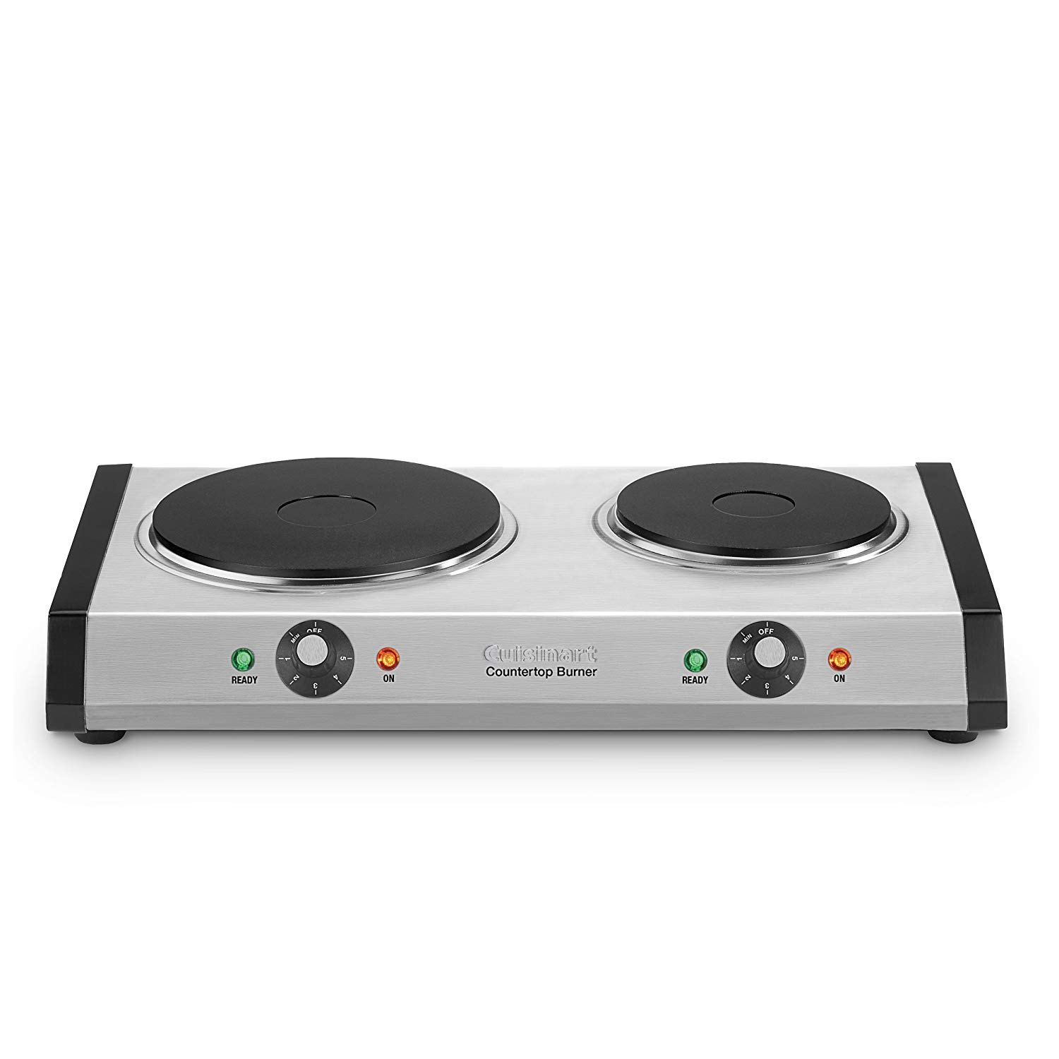 Cuisinart CB-60 Cast-Iron Double Burner - Portable Electric Stove Top