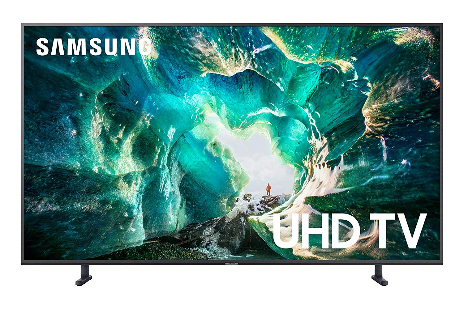 Samsung UN65RU7100FXZA Flat 65-Inch 4K UHD 7 Series Ultra HD Smart TV with HDR and Alexa Compatibility (2020 Model)