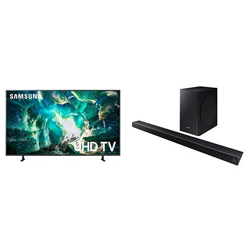 Samsung UN65RU8000FXZA Flat 65-Inch 4K 8 Series Ultra HD Smart TV with HDR and Alexa Compatibility (2020 Model)