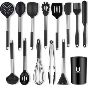 Silicone Cooking Utensil Set 14 Pcs