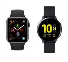Apple Watch vs. Galaxy Watch
