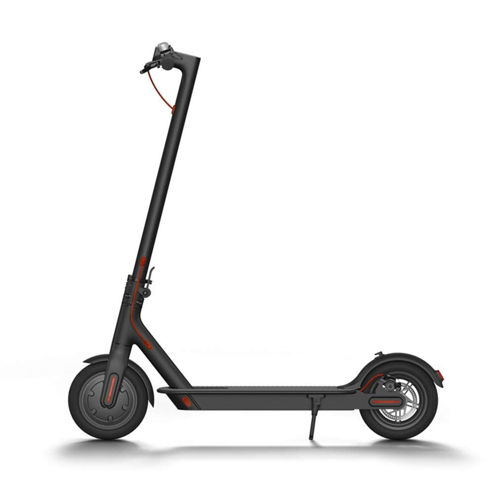 Xiaomi Mi Electric Scooter, 18.6 Miles Long-range Battery, Up to 15.5 MPH, Easy Fold-n-Carry Design, Ultra-Lightweight Adult Electric Scooter (US Version with Warranty) Product Code: B076KKX4BC