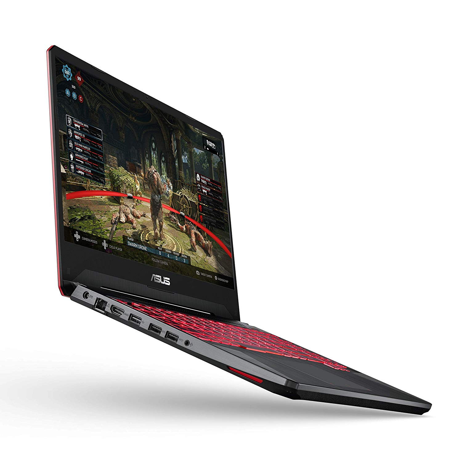 "Asus TUF Gaming Laptop, 15.6"" IPS Level Full HD, AMD Ryzen 5 3550H Processor, AMD Radeon Rx 560X, 8GB DDR4, 256GB PCIe Nvme SSD, Gigabit WiFi, Windows 10 - FX505DY-ES51by ASUS Product Code: B07M9SMWMS"