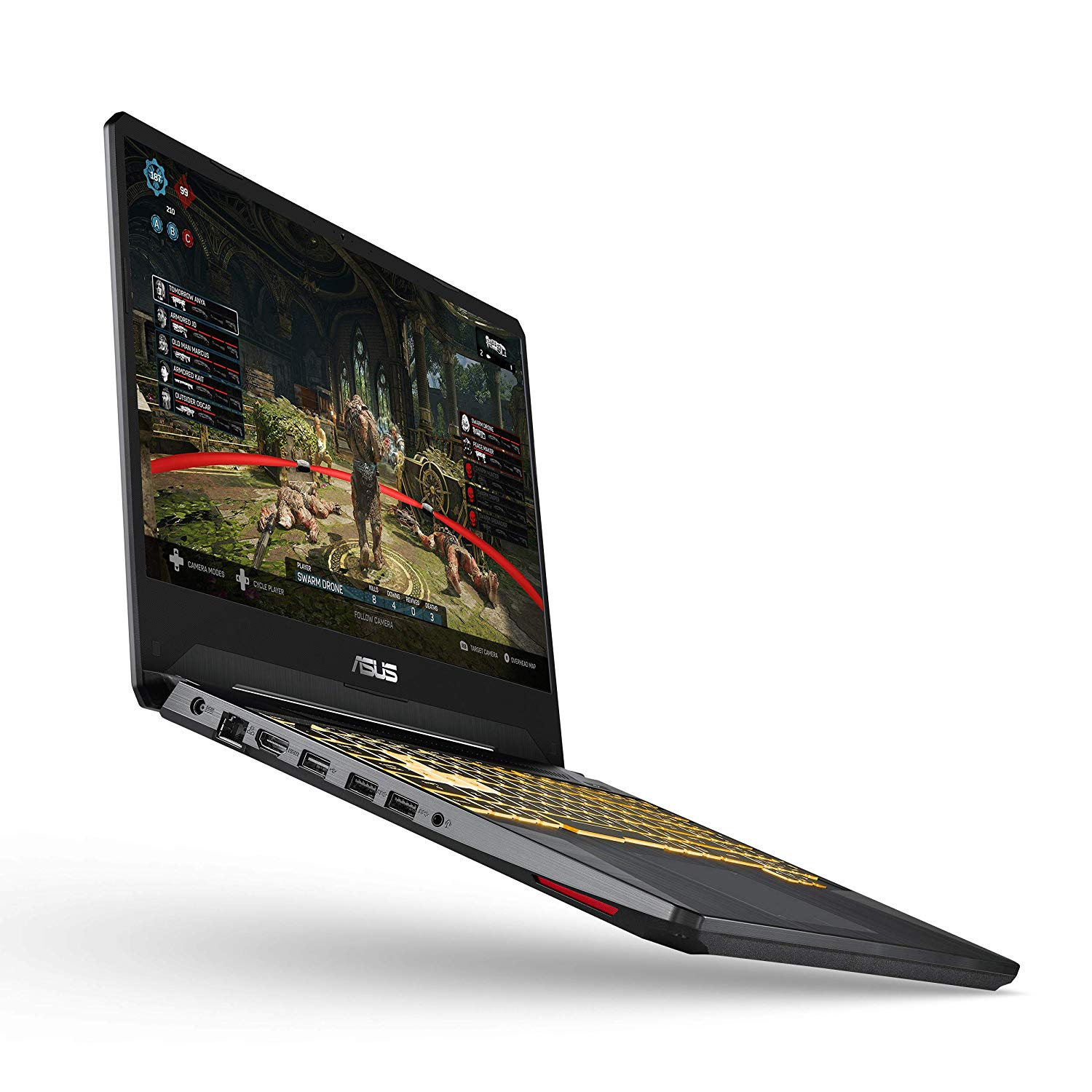 "ASUS TUF (2020) Gaming Laptop, 15.6"" 120Hz Full HD IPS-Type, AMD Ryzen 7 3750H, GeForce GTX 1660 Ti, 16GB DDR4, 256GB PCIe SSD + 1TB HDD, Gigabit WiFi 5, Windows 10 Home, TUF505DU-EB74 (Renewed) Product Code: B07SR5HS6X"