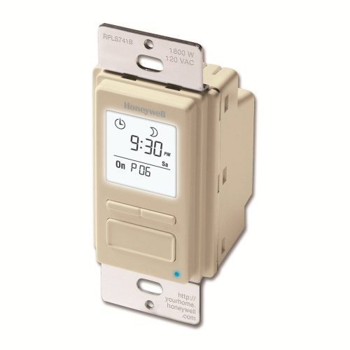 Honeywell econ switch 7-day programmable timer for lights