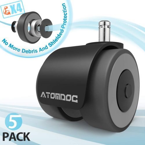 ATOMDOC Office Chair Caster Wheels