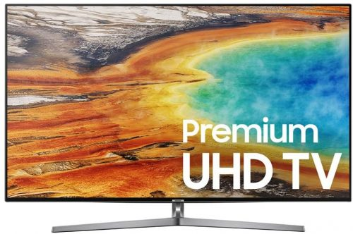 Samsung: UN55MU9000 Flat 4K Ultra HD 9 Series TV
