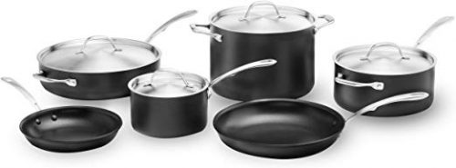 Kitchara Hard Anodized Cookware Set