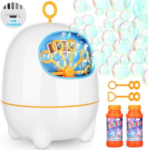 BATTOP Bubble Machine, Automatic Bubble Blower - Bubble Machines