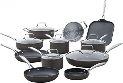 Stone & Beam Kitchen Cookware Set - Hard Anodized Cookware Sets