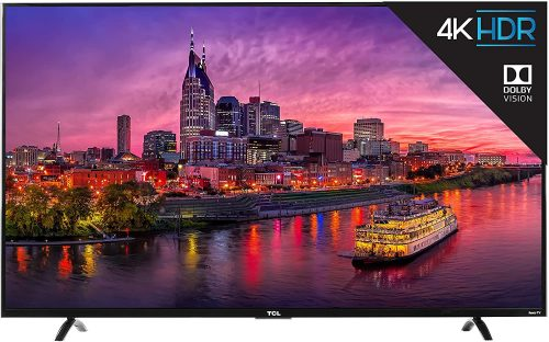 TCL: 4K Ultra HD Roku 55P607 Smart TV