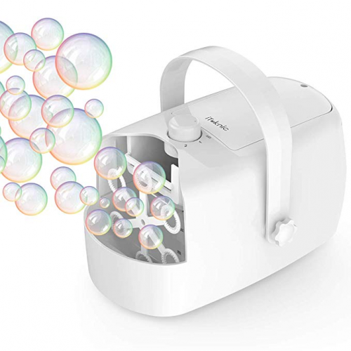 iTeknic Bubble Machine Bubble Blower - Bubble Machines