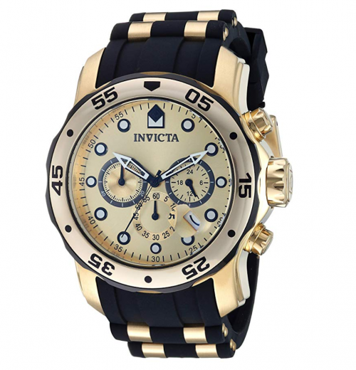 Invicta 17885 Pro Diver ion-plated stainless steel watch