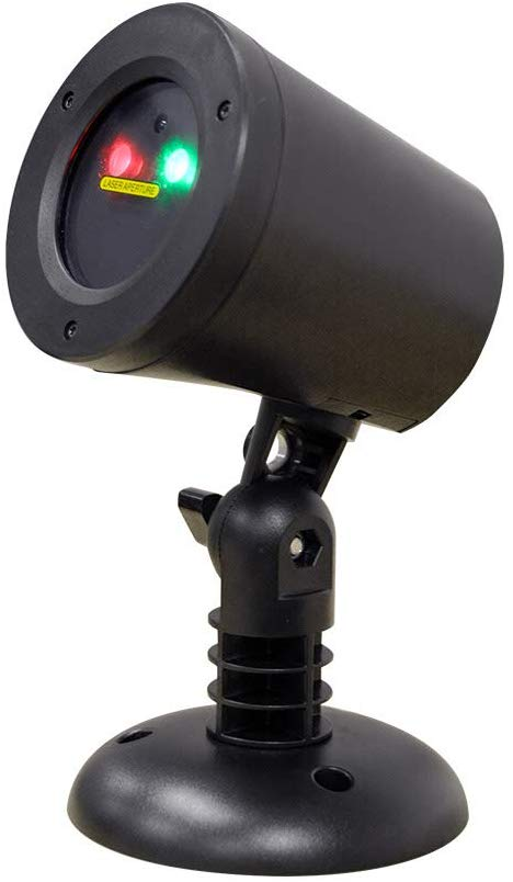 BlissLights Motion Red/Green Firefly Laser Projector - Outdoor Laser Lights For Christmas
