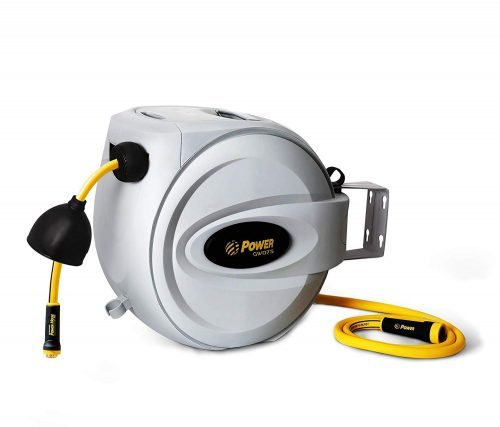 "Power Retractable Hose Reel 5/8"" x 75 + 6 FT"